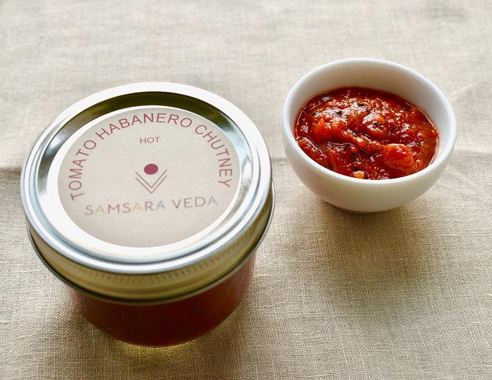 Habanero Tomato Chutney