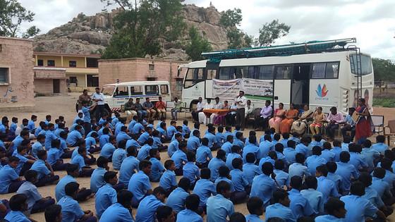 Free Eye Checkup Camp at The Government Boys High School Sirwar
