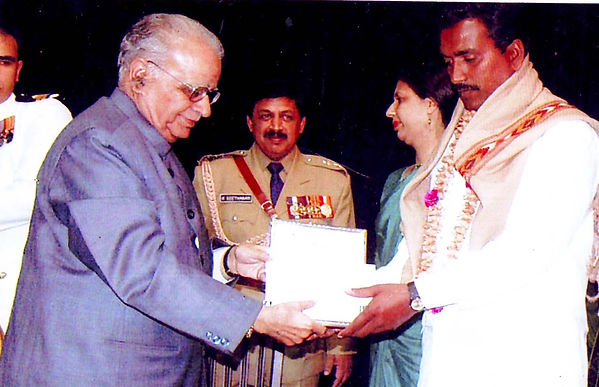 Gnanmithra received an appreciation letter rom Governor of Karnatak