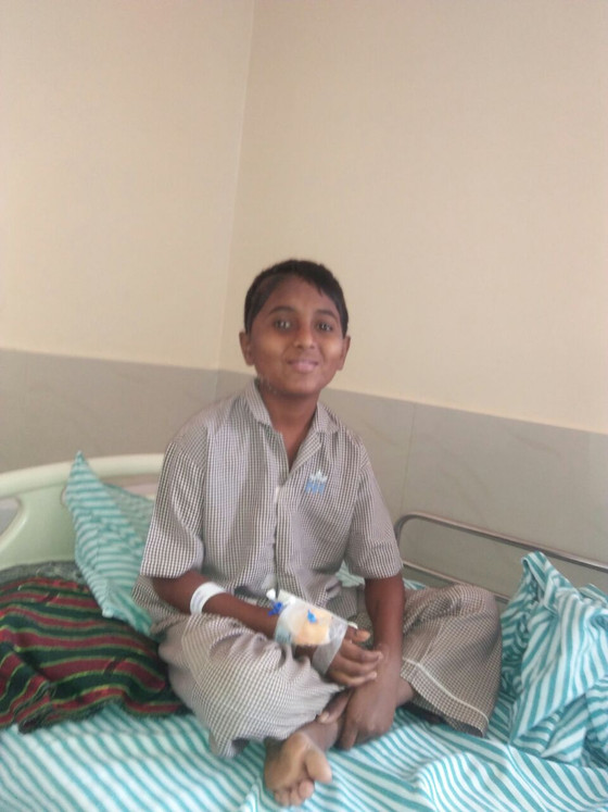 Brain Surgery Saves the Life of a 12 Year Old Boy
