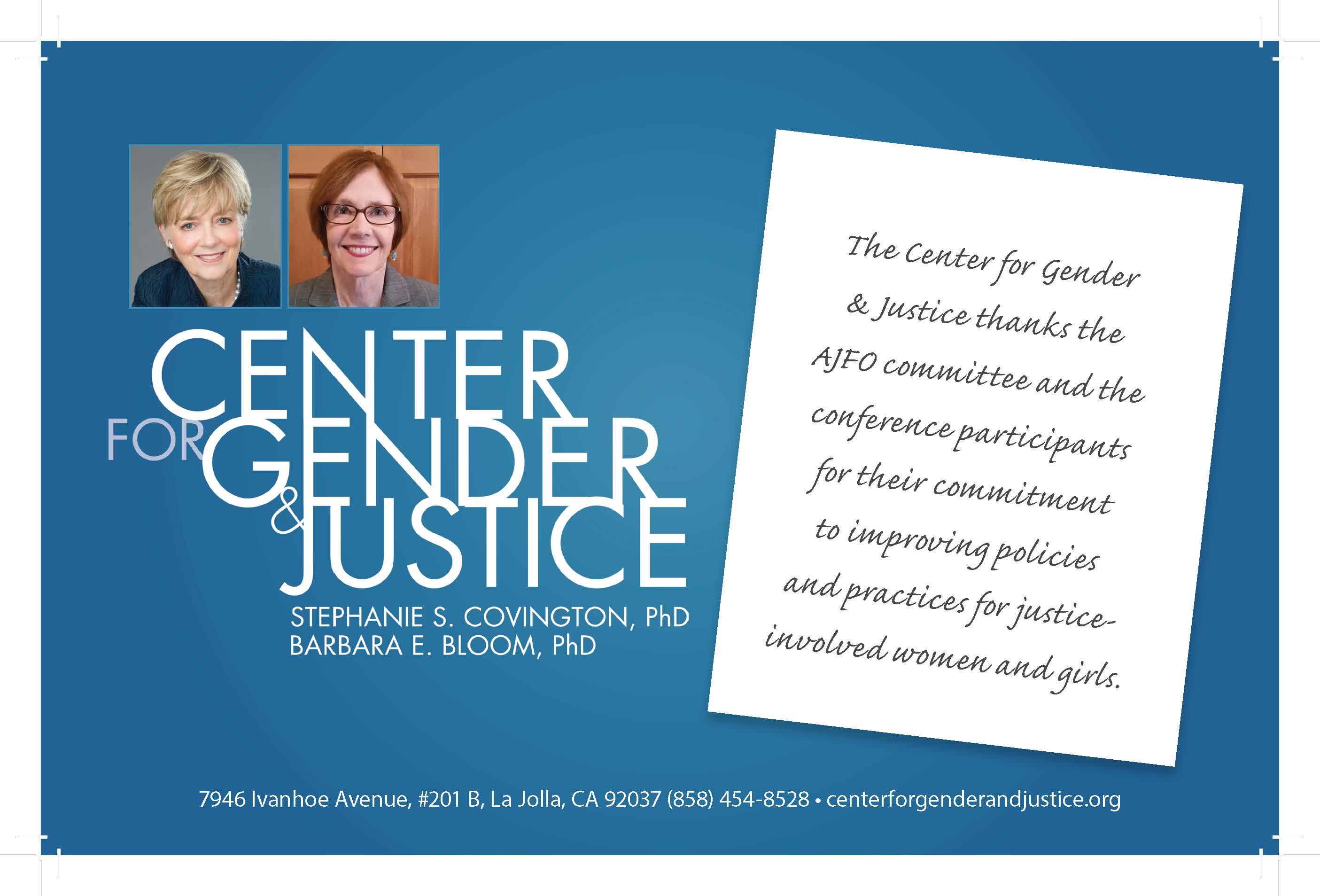 Center for Gender & Justice