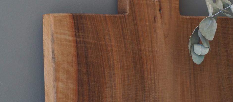 La douceur du bois brut
