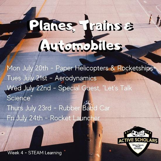 Week 4 | S.T.E.A.M. + Multi Sport | July 20 to 24