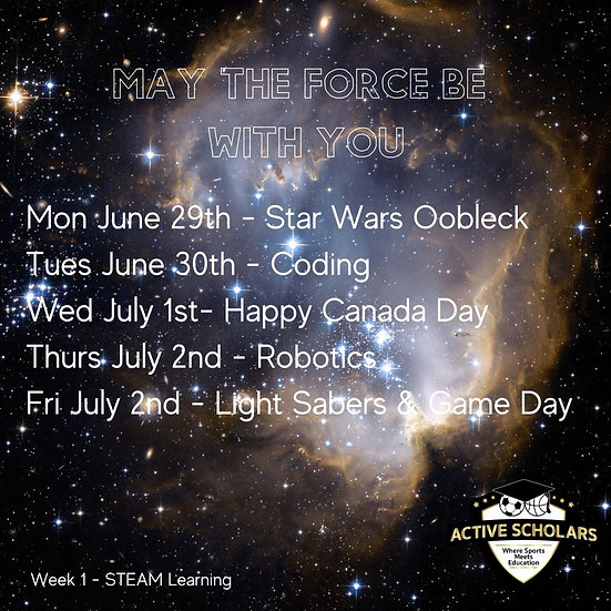 Week 1 | S.T.E.A.M. + Basketball | June 29 to July 3
