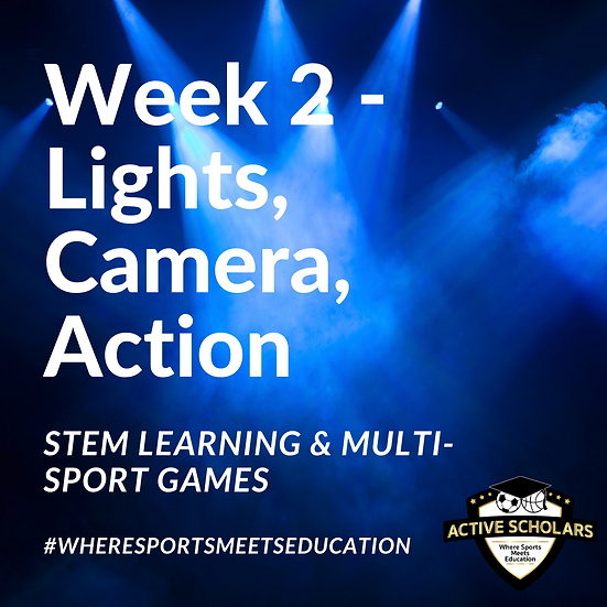 Ajax - Week 2 - Jul 12 - 16, 2021 (Lights, Camera, Action)
