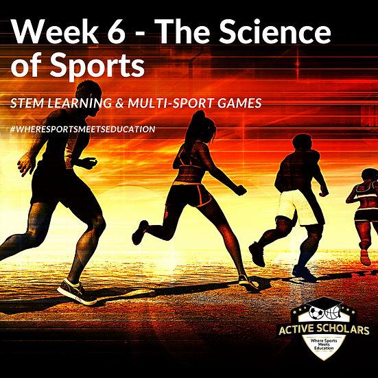 Ajax - Week 6 - Aug 9 to 13, 2021 (The Science of Sports)