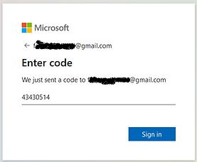 Login to Teams Enter verification code E