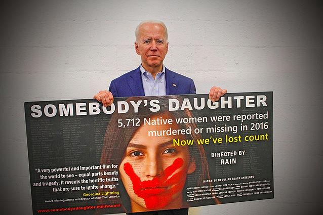 Vice President Joe Biden, who has presen