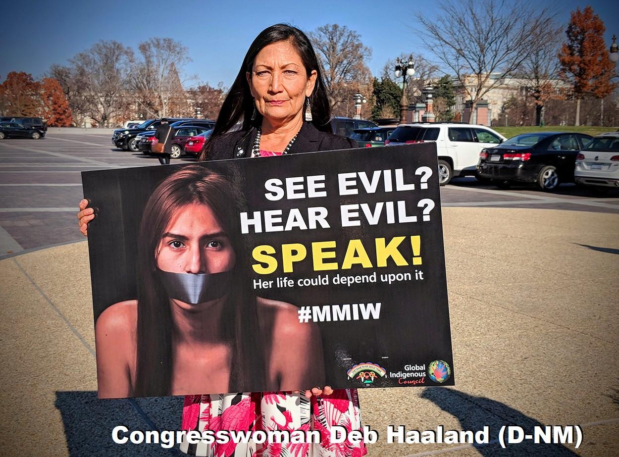 Congresswoman Deb Haaland (D-NM)