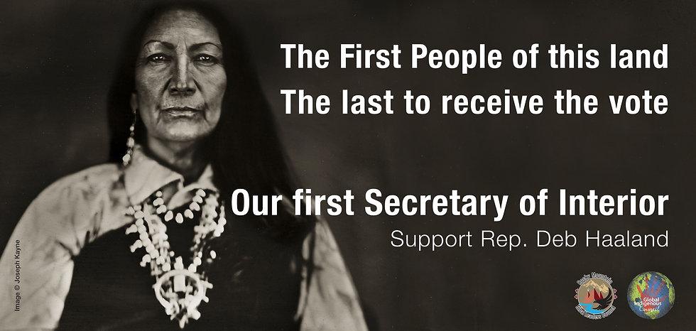 Tribal alliance's billboard supporting R