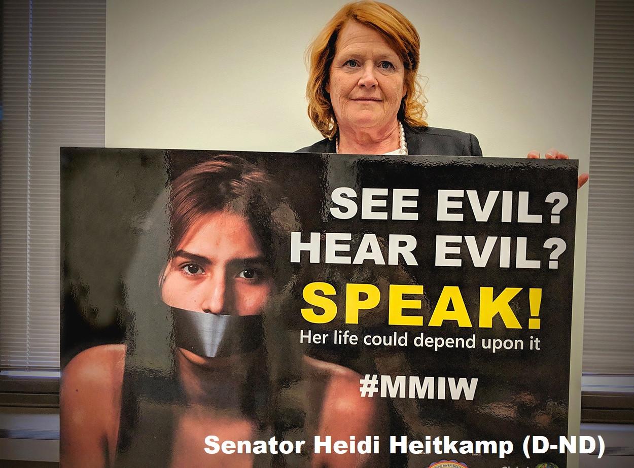 Senator Heidi Heitkamp (D-ND)