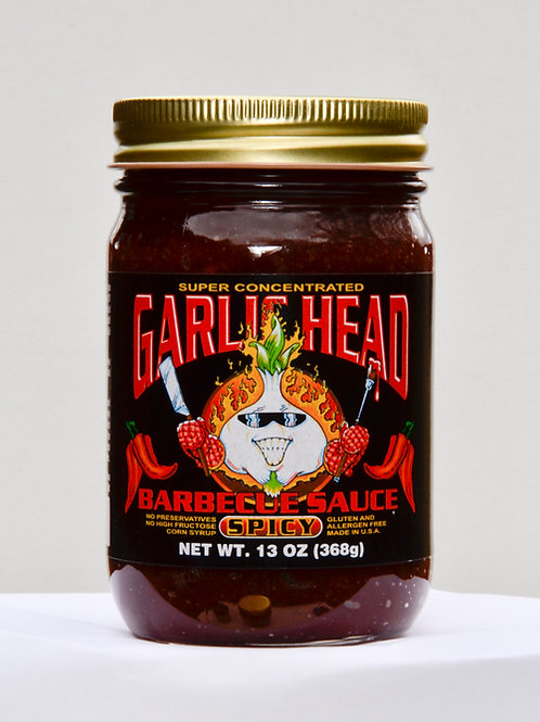 Garlic Head SPICY Barbecue Sauce