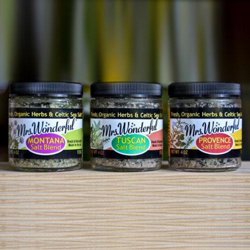 Mrs. Wonderful Salt Blend Combo Pack