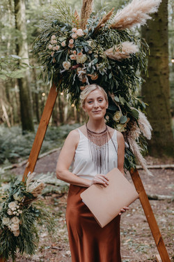 Kent Celebrant - Woodland Wedding