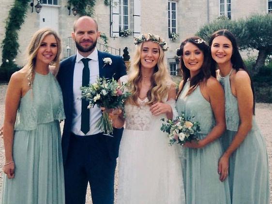 Wedding at Chateau de St Paul, France