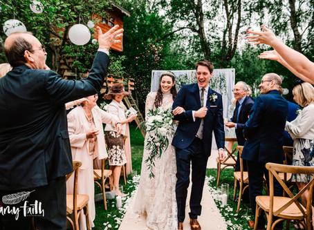 An At-Home Garden Wedding
