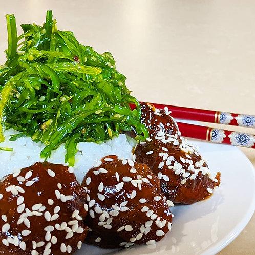 Asian Take-Out Plate (Vegan)