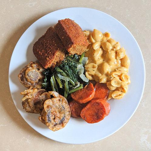 Vegan Soul Food Holiday Platter