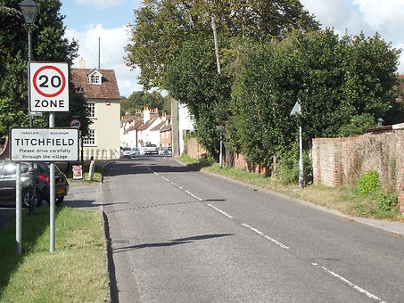 Entry to Titchfield
