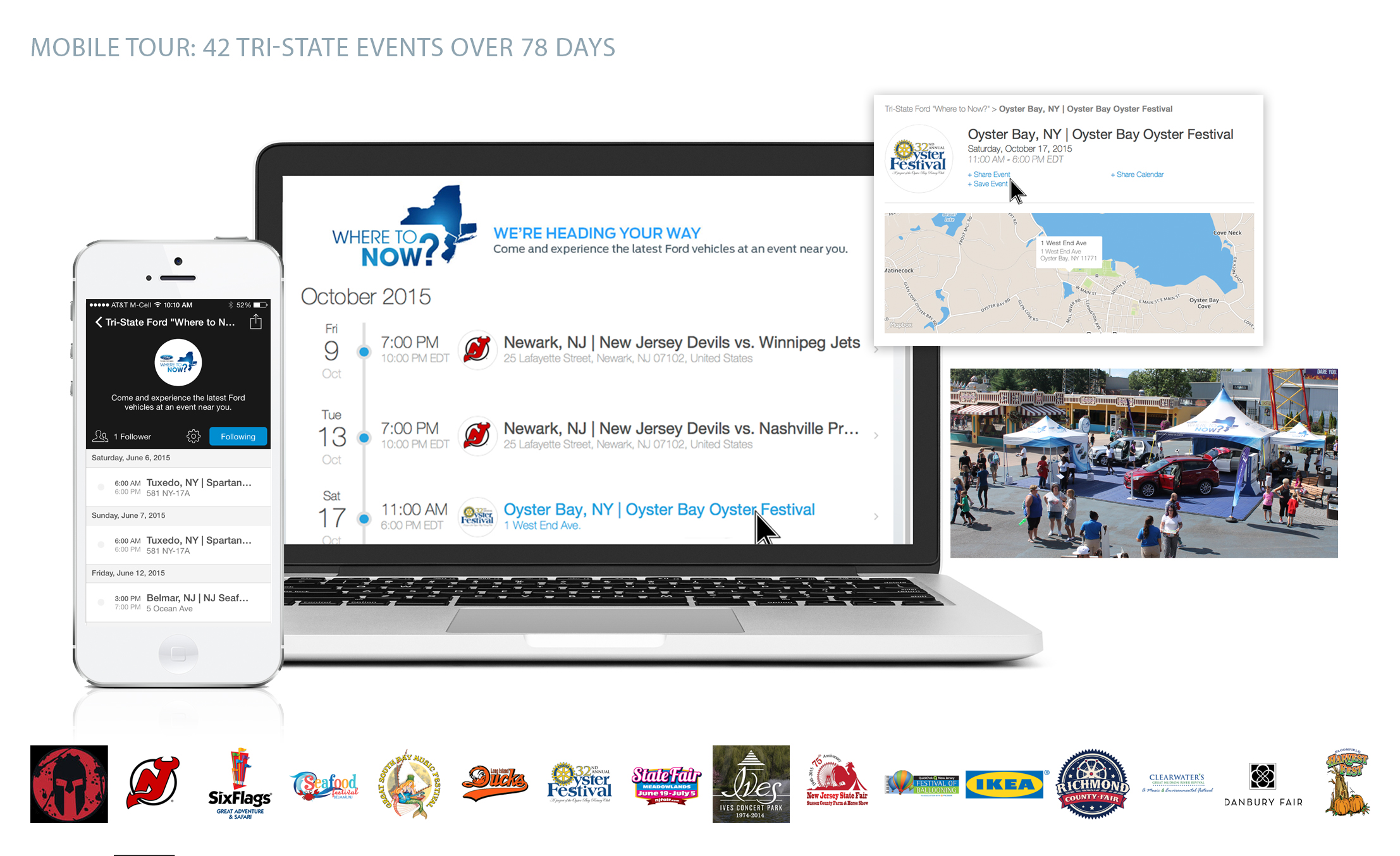 Mobile Tour Schedule