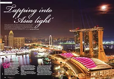 Tapping into 'Asia Light' Source: Excellency Magazine, UAE
