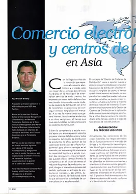 Mecalux New E-commerce and Supply Chain Management - Developing Trends in Asia  (Spanish)