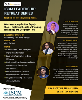 ISCM Leadership Retreat Series