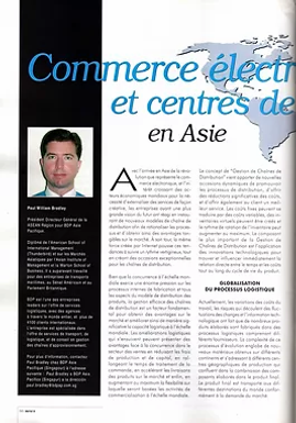 Mecalux New E-commerce and Supply Chain Management - Developing Trends in Asia   (French)
