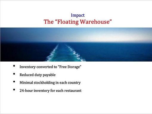 The Floating Warehouse by Paul W Bradley
