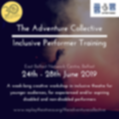 Inclusive Performer Training Event Logo