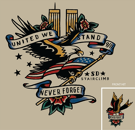 SD911MSC Mighty Eagle T-Shirt