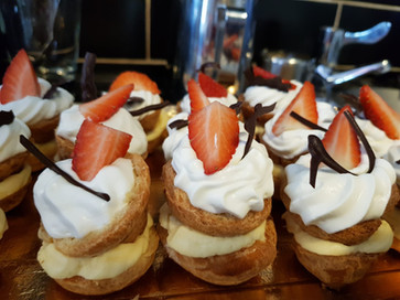 Nicetta - Profiteroles with a twist