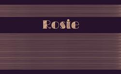 Rosie recto rectangulaire 1