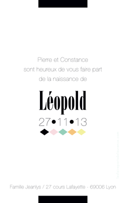 Léopold verso rectangulaire 1