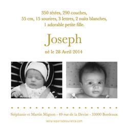 Joseph verso carré 2