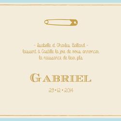 faire-part Gabriel recto carré 4