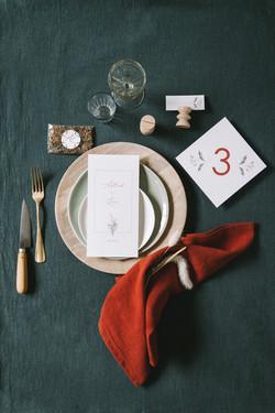 Astrid et Loïc collection table