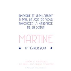 Martine verso carré 1