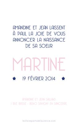 Martine verso rectangulaire 1