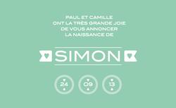 Simon recto rectangulaire 1