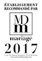 recommandé par la maison du mariage de Bordeaux