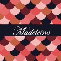 Madeleine recto carré 1