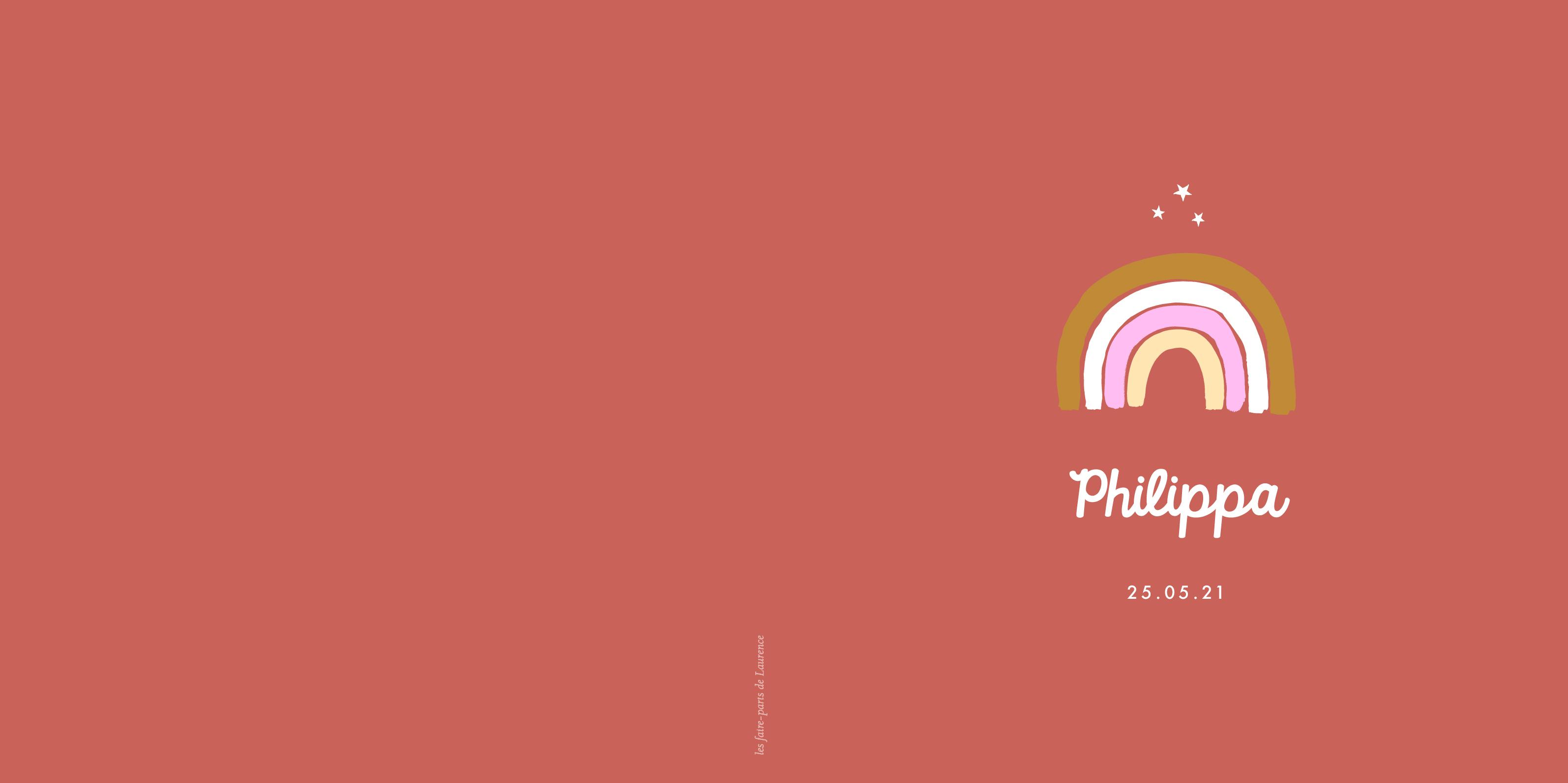 FP Philippa - livret 4 pages - 13,5:13,5