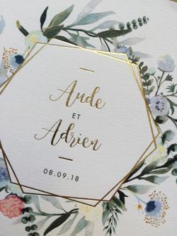 Aude et Adrien bleu