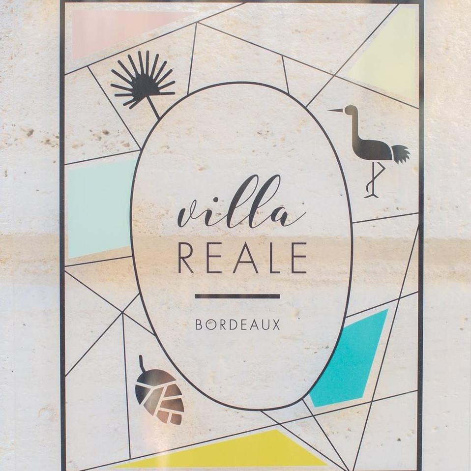 villa REALE Bordeaux - identité