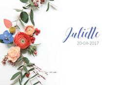faire part naissance juliette rectan