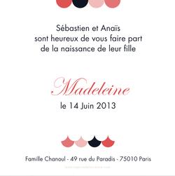 Madeleine verso carré 1