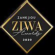 award ZIWA 2020 - zankyou concours - prix gagnant