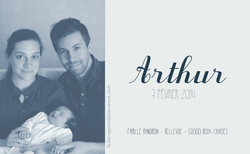 arthur verso rectangulaire 2 photo