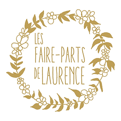 logo Les faire-parts de Laurence - Bordeaux